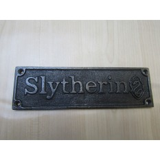 Cast Iron Slytherin Plaque