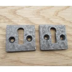 Key Hole Plate Covers Door Lock Escutcheons Small Square