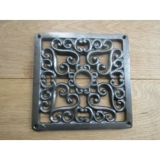 6'' x 6'' Southwark Flat Grille Cover Antique Iron