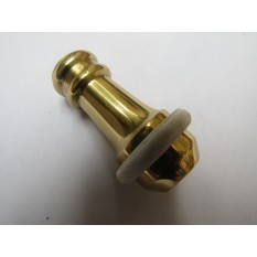 Small Solid Card Light Pull Polished Brass