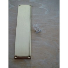 Solid Brass Door Finger Plate