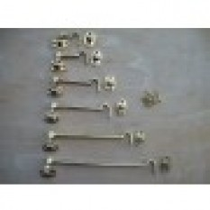 Decorative Hook & Eye Door Latch-6 inch