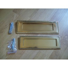 Solid Brass Postal Box Plate