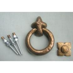 Antique Bronze Ring Door Knocker