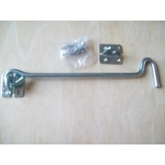 Solid Steel Hook & Eye Stable Latch