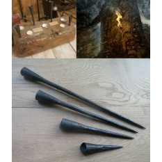 Medieval Dungeon Spike in Candle Holder 12''