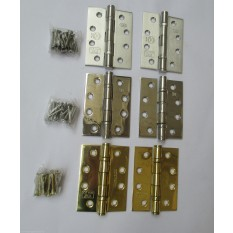 STAINLESS STEEL BALL BEARING GRADE 13 EN193 FIRE TESTED DOOR BUTT HINGES CE1121-PC