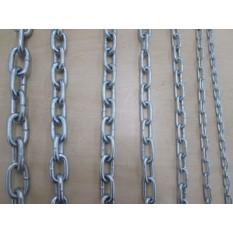 Welded steel chain