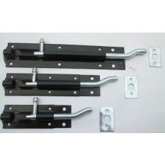 Steel cranked door bolts