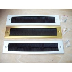 Steel Inner Brush Postal Box Plate