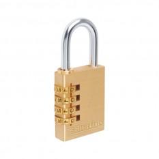 Sterling Brass Combination Padlock