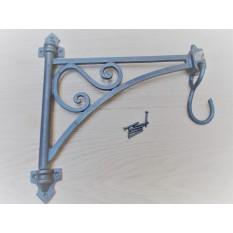 Swivel Hook Shelf Brackets Antique Iron