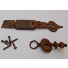 Swivel Hasp Rust