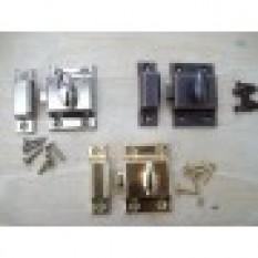 45MM Cupboard door thumb turn catch latch lock-Chrome