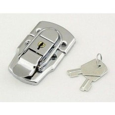 Toggle Catch Large Locking Silver
