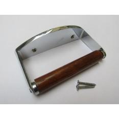 Toilet Roll Locking Holder Chrome