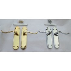 Traditional Shaped Mortise Latch Handle