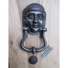 Tutankhamun Door Knocker Antique Iron