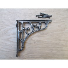 "VICTORIAN STYLE SCROLL BRACKET antique Iron 4"""