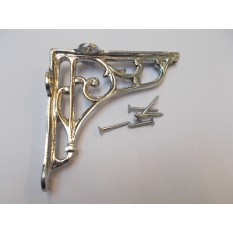 "Victorian Style  Scroll Bracket 5""."