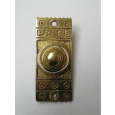 VICTORIAN TRADITIONAL OLD STYLE BELL PUSH DOOR BELL WIRED-BRASS DECORATIVE