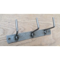 VINTAGE STYLE COUNTRY KITCHEN WALL MOUNTED KEY HANGER HOOKS RAIL UTILITY RACK