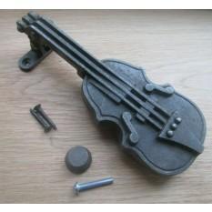 Violin  Door Knocker Antique Iron