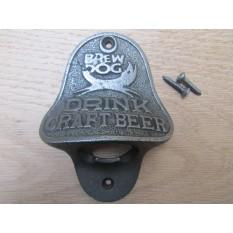 Cast Iron Brew Dog Bottle Opener