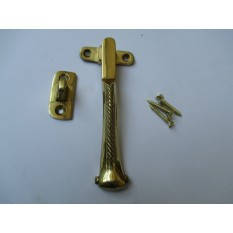 POLISHED BRASS-Georgian/Rope edge window fittings