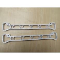 Ceiling clothes airer creel /Kitchen Pot pan rack shelf brackets slats White