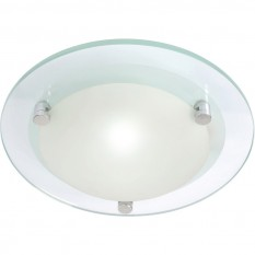Diablo  LED Glass Flush Light