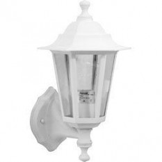 White Wall Mounted Lantern Light