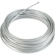 Galvanised Wire Rope 4mm x 10m