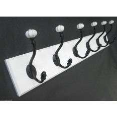 Shabby Chic Style Ceramic Coat Rack
