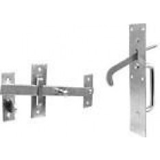 Zinc Suffolk latch
