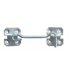 "18"" Steel Wire Cabin Hook Catch Zinc"