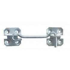 """6"""" Steel Wire Cabin Hook catch Zinc"""