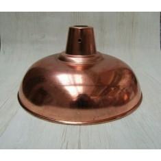 "Retro Light shade 14"" Pool Table Polished Copper"