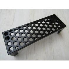 """9"""" x 3"""" Honeycomb Air Brick Black Antique"""