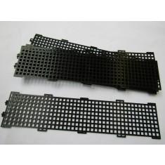 Pack Of 10 Black Traditional Debris Mesh Guard Gutter Fixing