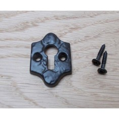 Diamond Open Escutcheon Black Antique