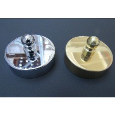 Polished Brass 44mm Small end Cap