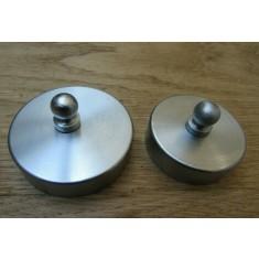 Satin Chrome 44mm Small end Cap