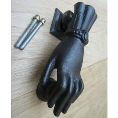 Female Hand Door Knocker Antique Iron