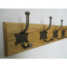 Retro GNER Coat Hook Rail