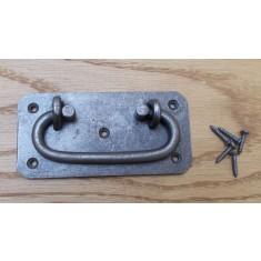 Heavy Cast Iron Chest Lifting Handle Antique Iron