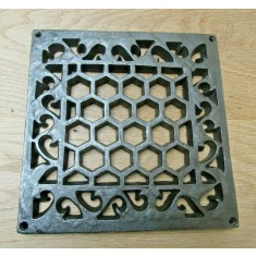 Heritage Flat Grille Cover Antique Iron