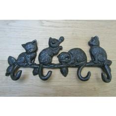 Kittens on Branch Key Hanger