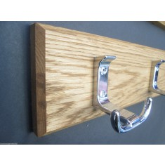 Polished Chrome Towel Hook Rail