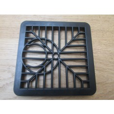 """Black Traditional Plastic Square 6"""" Gutter Fixing"""